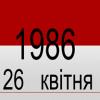Чорнобиль 30 років