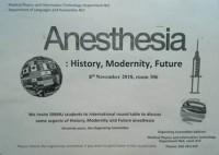 Круглый стол на тему: «Anesthesia: History, Modernity, Future»