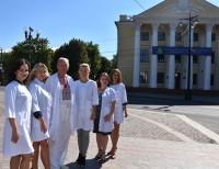 Вітання з нагоди 90-річчя Донецького національного медичного університету